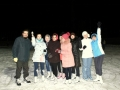 катке стадиона Олимпийский, декабрь 2013