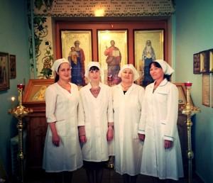 Молитвенная комната святой преподобномученницы Великой Княгини Елисаветы1