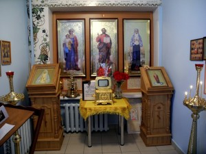 Молитвенная комната святой преподобномученницы Великой Княгини Елисаветы3