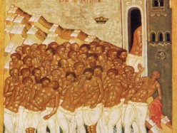 7 | 20 марта Память 40 мучеников, в Севастийском озере мучившихся