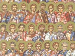 6 / 19 марта Церковь вспоминает 42 святых мучеников в Амморее