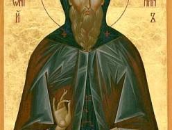 3 / 16 августа Память прп. Антония Римлянина, Новгородского чудотворца (1147)