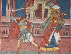30 октября / 12 ноября Память сщмч. Зиновия, еп. Егейского, и сестры его Зиновии (285)