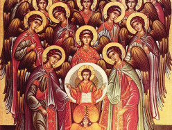 8 / 21 ноября Собор Архистратига Михаила и прочих Небесных Сил бесплотных. Архангелов Гавриила, Рафаила, Уриила, Селафиила, Иегудиила, Варахиила и Иеремиила