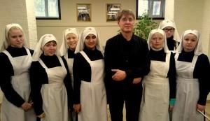 Заварицкий Д.А. с сестрами милосердия Чувашии