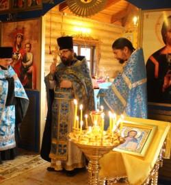 Престольный праздник в храме иконы Божией Матери «Скоропослушница» г.Чебоксары