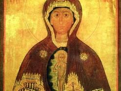 9 / 22 марта Празднование Албазинской иконы Божией Матери, именуемой «Слово плоть бысть» (1666)
