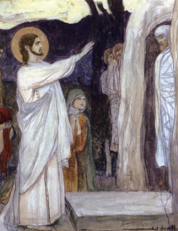Лазарева суббота: мы все воскреснем