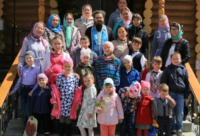 В Детской воскресной школе храма иконы Божией Матери «Скоропослушница» г.Чебоксары состоялся праздничный выпускной