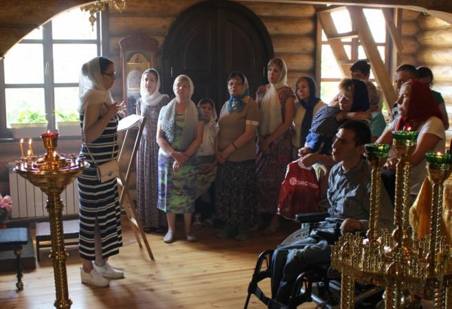 В храме иконы Божией Матери «Скоропослушница» г.Чебоксары состоялась литургия с сурдопереводом
