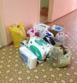 Рождественские подарки для пациентов хосписа села Октябрьское Мариинско-Посадского района