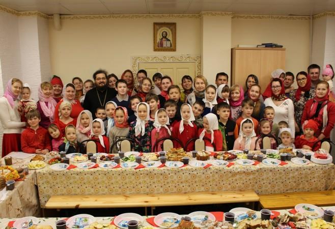 Состоялся Пасхальный детский утренник для воспитанников Детской воскресной школы храма