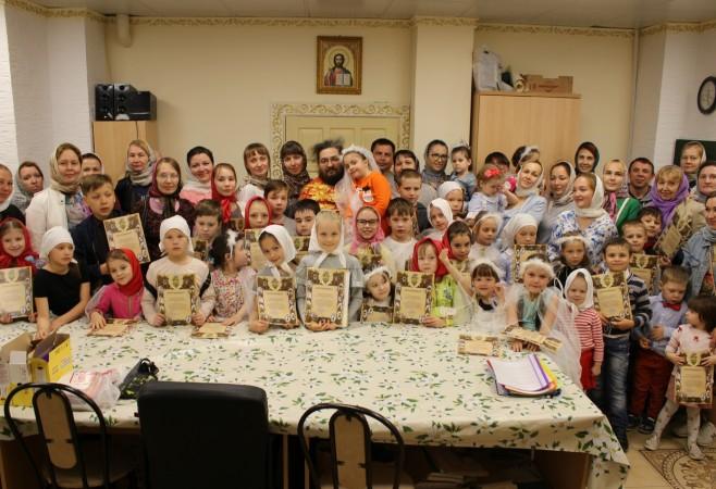 Праздничный выпускной в Детской воскресной школе храма