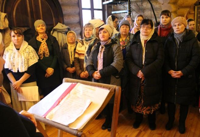 Состоялась очередная литургия с сурдопереводом