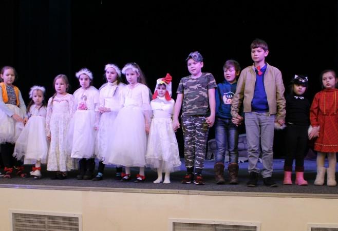 В Детской воскресной школе храма прошли занятие и репетиции к спектаклю