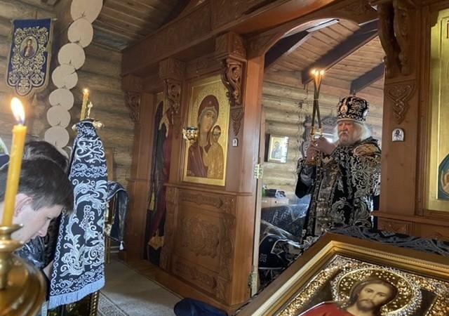 Богослужение в Великую среду в храме иконы Божией Матери «Скоропослушница» г.Чебоксары