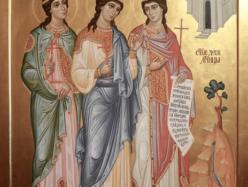 10 / 23 сентября – память мучениц Минодоры, Митродоры и Нимфодоры (305-311)