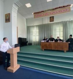 Вступительное собеседование с абитуриентами Епархиального центра подготовки церковных специалистов имени святителя Гурия Казанского