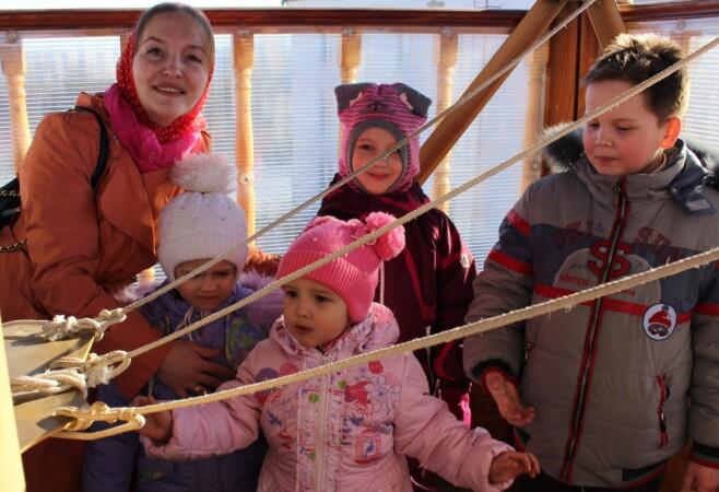 На Светлой седмице воспитанники воскресной школы могут подняться на колокольню храма